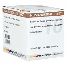 Cleartest® Humanofecal Human-Hämoglobin anzeigend