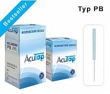 AcuTop® Akupunkturnadeln Typ PB (Plastikgriff)