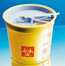 Entsorgungsboxen Abwurfeimer Für Kanülen und Spritzen