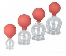 Schröpfglas mit Gummiball