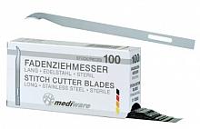 Mediware Fadenziehmesser lang Einzeln steril