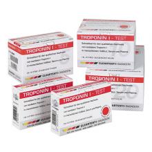 Cleartest® Troponin I Der schnelle visuelle Immunoassay-Test