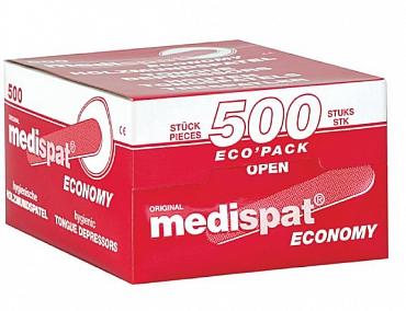 Medispat Holzmundspatel 500 Stück Ecopack