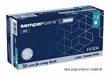 Sempercare Premium grip Latex Handschuhe puderfrei unsteril