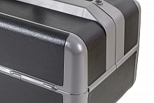 Ideal Großformat Firma Dürasol® Echtleder schwarz