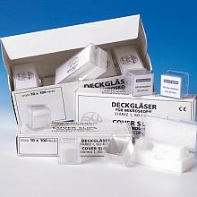 Haemacytometer Deckgläser 20x26mm; 10 Stück; amtlich geeicht