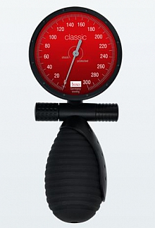 Bltdr.messgerät boso classic merkur RS Ø 60 mm, mit Klettenmanschette