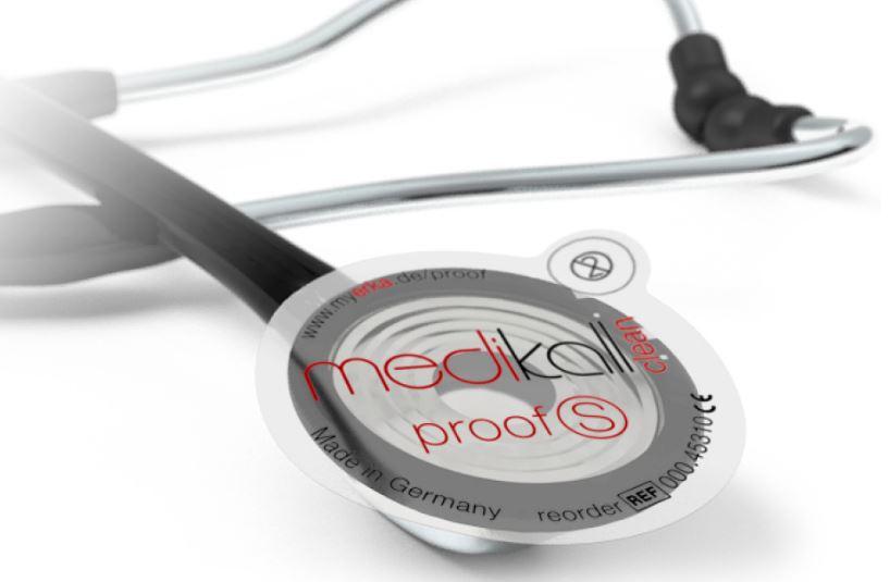 Proof S Hygieneschutz für Stethoskope selbstkl. Keimbarriere, Pack. 500 Stück