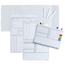 Karteikarten ALPHAsafe, DIN A5 Typ Standard, Packung mit 500 Stück