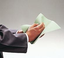 Handtücher Natura grau Zick-Zack; 1-lag.; 25x23cm; 5000 Tücher