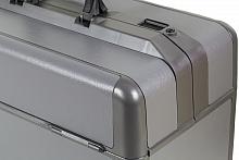 Ideal Kleinformat Firma Dürasol® Echtleder antikgrau