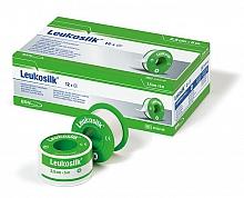 Leukosilk® Rollenpflaster f. empf. Haut 5,0m : 2,50cm ohne MSR, weiß, 12 Rollen