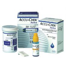 Accu-Chek® Aviva; Blutzuckerteststreifen Original; Packung mit 50 Test