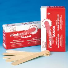 Holzmundspatel Medispat Standard unsteril, Packung a 100 Stück