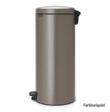 Tret Abfalleimer NewIcon Farbe weiß 30 Ltr., Ø293xH679mm, Zink-Eimereinsatz