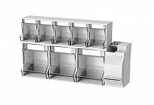 Injektionsset PicBox® Plus Wandmodell 3 große / 5 kleine Schütten & Kombi-Set