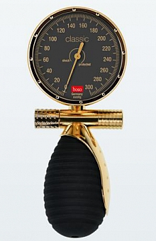Bltdr.messgerät boso classic venus GG Ø 60 mm, mit Klettenmanschette