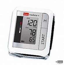 Boso medistar+ Blutdruckmessgerät kompaktes Handgelenk-Messgerät