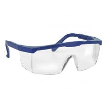 Schutzbrille mit integr. Seitenschutz Bügel längenverstellbar