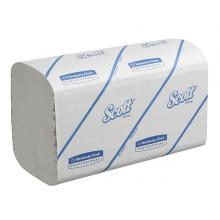 Handtücher Scott Performance Med. KC6663 weiß, 1-lagig, 21,5 x31,5cm, 3180 Tücher