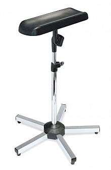 Arm-und Beinstütze, ratiomed, verchromt 5-Fuß; Belastbarkeit max. 15 kg