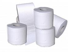 Toilettenpapier 2-lagig geprägt, weiß 250 Blatt, 64 Rollen
