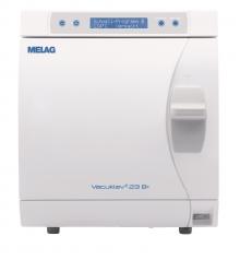 Melag® Vacuklav Typ 23-B+ Stand alone Kessel Tiefe 45cm, ø25cm, Vol 22,6 Liter